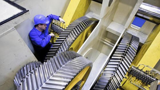 Energieeffizienz: Bei Werkzeugmaschinen gibt es enormes Stromsparpotenzial.