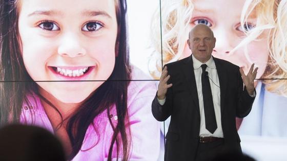 Microsoft-Konzernchef Steve Ballmer