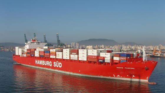 Containerschiffe: Oft über Fonds finanziert.