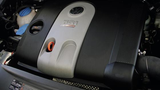 Sparsamer, länger, leichter: Neueste Motorengeneration im Golf VII.Quelle. VW