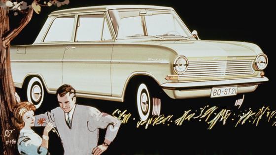 Eine lange Erfolgsgeschichte: Opel Kadett.