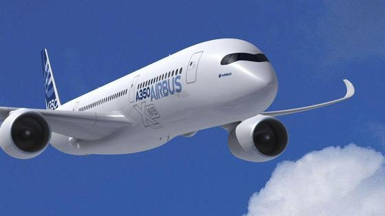 Airbus A350: Weitere Effizienzsteigerung durch neue Triebwerke.