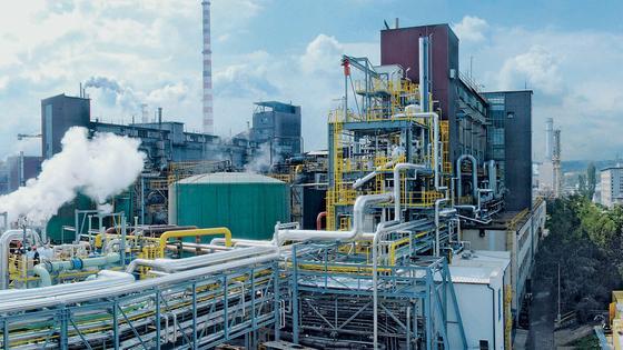 Kohlevergasungsanlage im tschechischen Vresova: Treibhausgase sinnvoll nutzen.