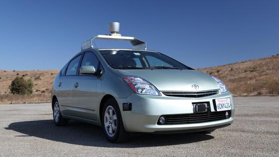 Google: Fahrerlose Autos basieren meist auf Toyota Prius.