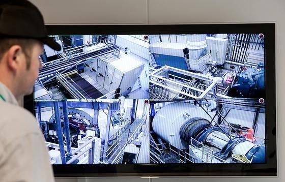 Siemens-Prüfstand für Windkraftanlagen in Dänemark.