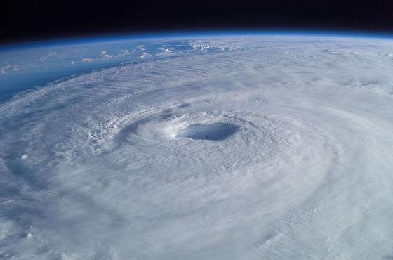 Hurrikans werden nach einer neuen Prognose von Wissenschaftlern immer häufiger auftreten. Im Bild der Hurrikan Isabel, aufgenommen von der Internationalen Raumstation.