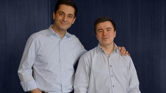 Reputami-Gründer Ali Saffari und Oliver Twardowski