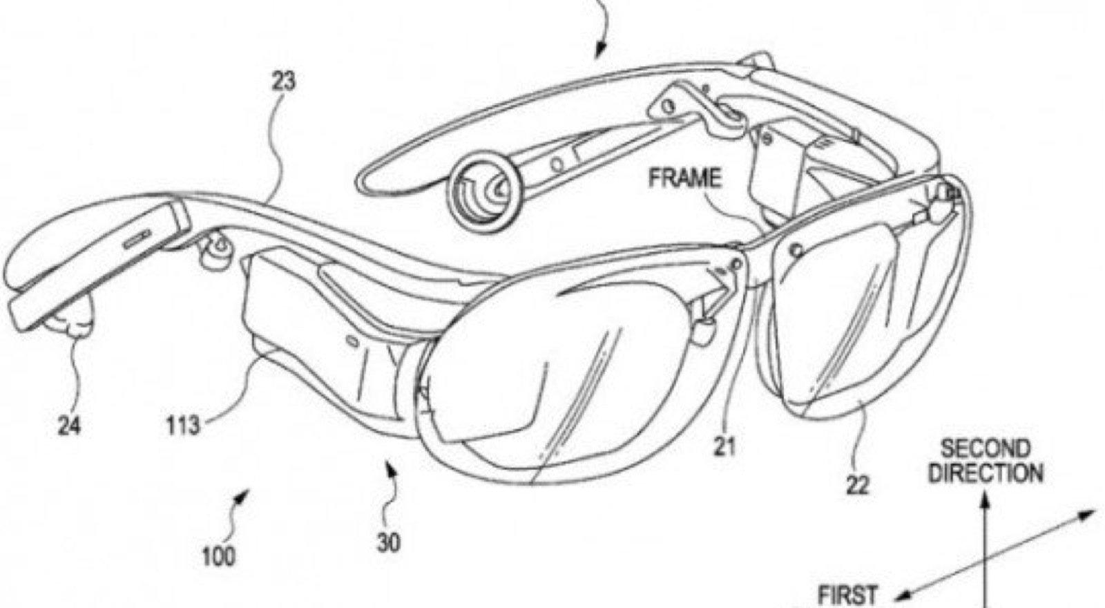 Eine Zeichnung aus dem Patentantrag von Sony vom November 2012.