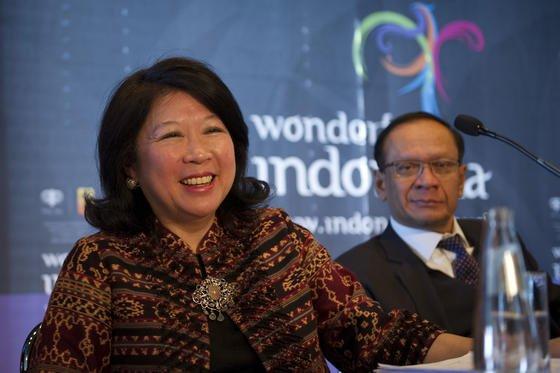 Die indonesische Ökonomin Mari Elka Pangestu will Generalsekretärin der WTO werden.