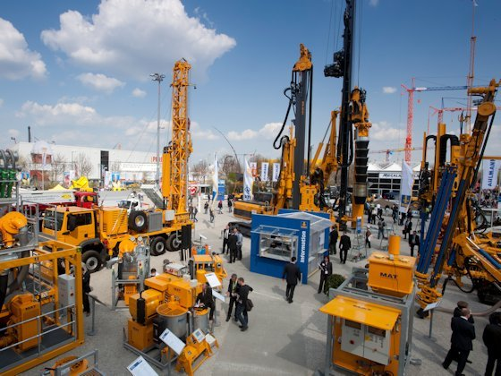 Deutsche Baumaschinenhersteller hoffen auf wachsende Nachfrage aus Asien.