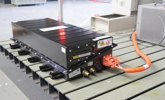 Eine Lithium-Ionen-Batterie im Forschungslabor der Universität Duisburg-Essen (UDE).