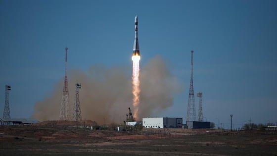 Eine Sojus-2.1b startete am Freitag auf dem Weltraumbahnhof Baikonur, um auch drei deutsche Mini-Satelliten im All auszusetzen.