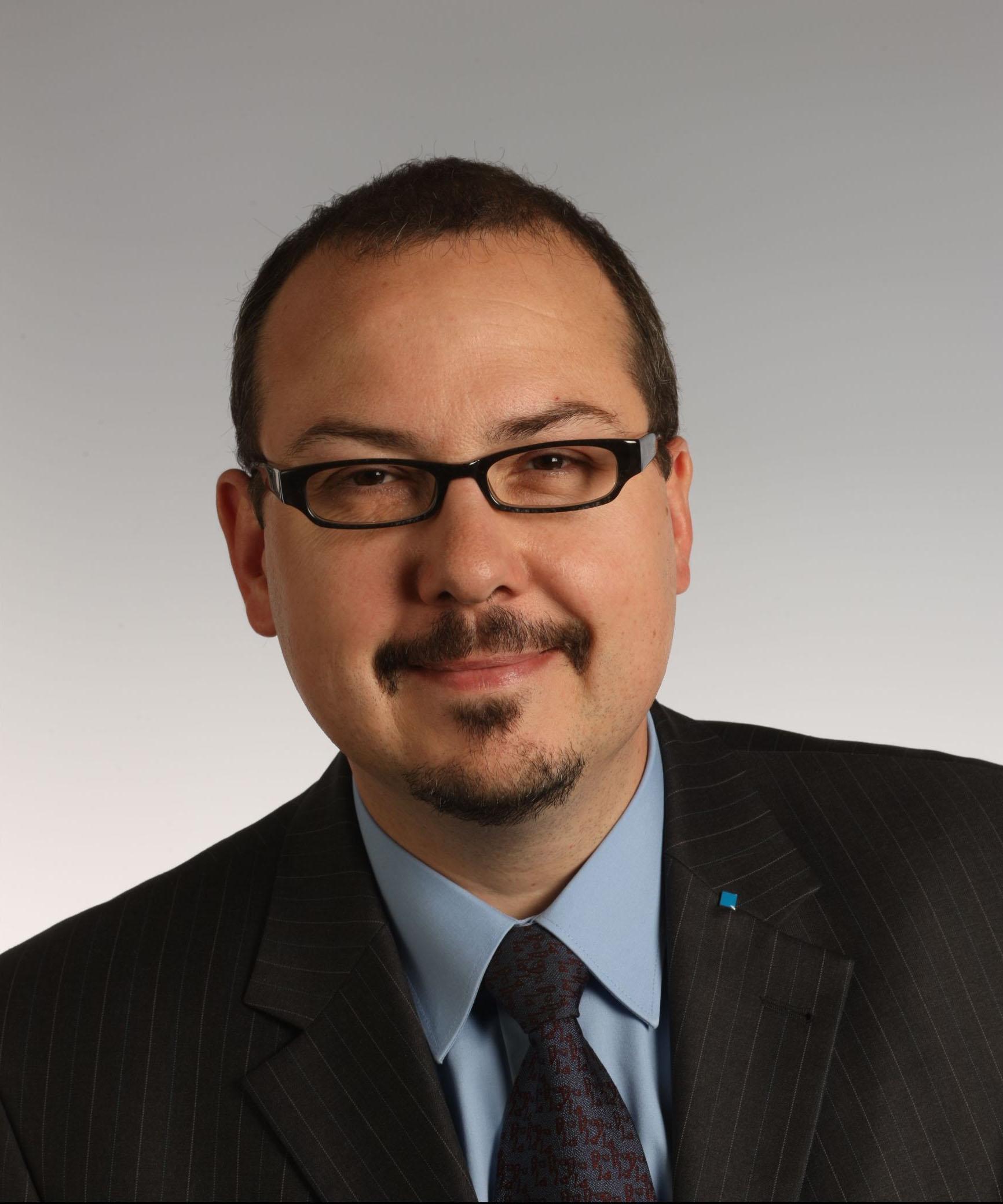 Sascha Hermann, Geschäftsführer des VDI Zentrums für Ressourceneffizienz