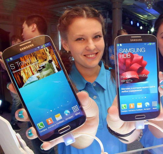 Samsung liegt im ersten Quartal 2013 beim Verkauf von Smartphones wieder unangefochten an der Spitze.