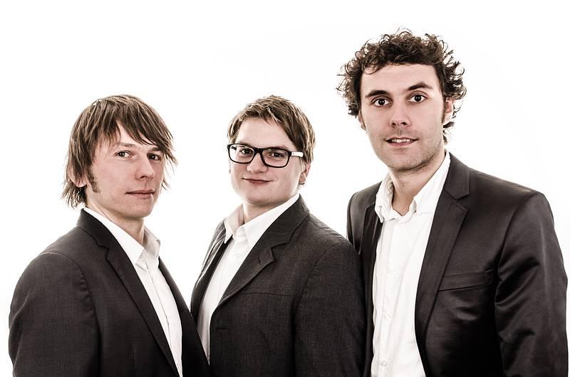 Die Gründer von Monkey Works (v.l.): Dr. Stefan Hennig, Linus Kuch und Henning Hager.
