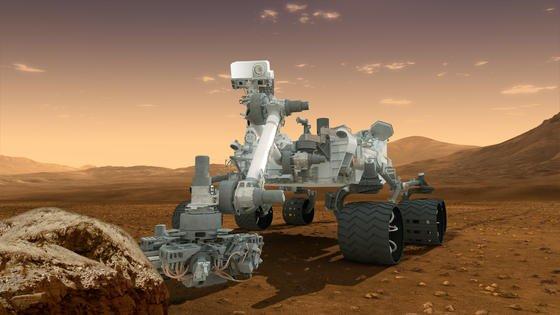 Vorbote auf dem Roten Planeten: Die NASA lässt den Roboter Curiosity schon mal das Gelände auf dem Mars erforschen. In nicht allzu ferner Zukunft hofft die amerikanische Raumfahrtbehörde, Menschen dorthin bringen zu können. Die Anreise wird knapp zwei Jahre dauern.