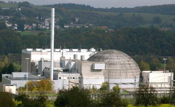 Das 2005 stillgelegte Atomkraftwerk Obrigheim wird derzeit abgebaut.