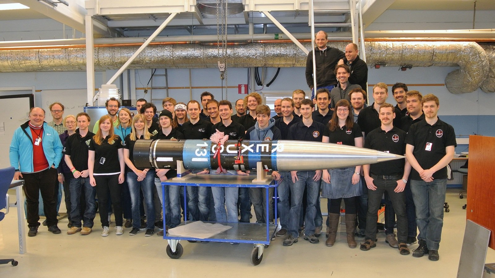 Die Teams von Rexus 13.