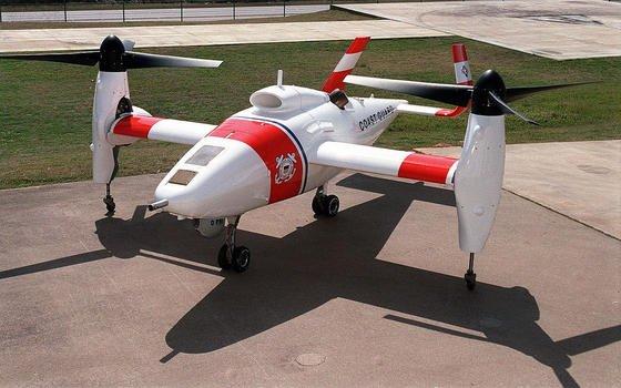 Für die amerikanische Küstenwache hat Bell das unbemannte Flugzeug Eagle Eye entwickelt, das 2006 erstmals geflogen ist. Eagle Eye kann sogar vertikal starten und landen, fliegt bis zu 370 km/h schnell und kann fünfeinhalb Stunden in der Luft bleiben.