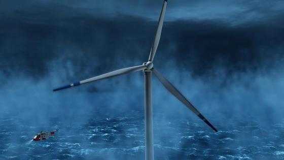 Ingenieur Rainer Schramm will nicht Wind über dem Meer sondern den Wasserdruck am Meeresboden dazu nutzen, Strom zu produzieren. Es geht ihm aber vor allem darum, den Strom unter Wasser zu speichern.