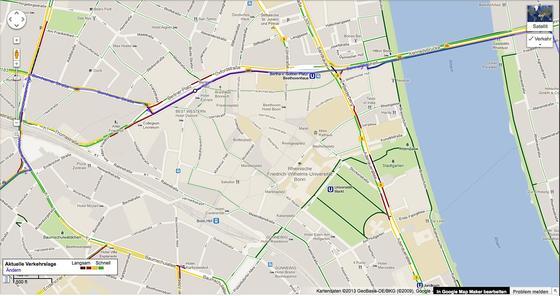 Ab sofort stellt Google Maps auch Radwege und Schleichwege für Radfahrer da. Damit können sich Radfahrer ab sofort ihre eigenen, ruhigen Strecken abseits des Verkehrs zusammenstellen.