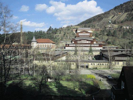 Die Tagesanlagen des ehemaligen Erzbergwerks Rammelsberg bei Goslar gehören heute zum Unesco-Weltkulturerbe.