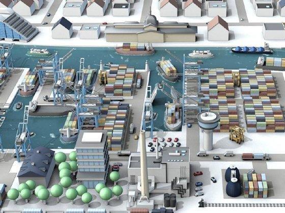 <p>Im Hamburger Hafen entsteht derzeit ein umfassendes Verkehrsleitsystem mit M2M-Elementen und innovativen Services – vieles läuft dann hier vollautomatisch ab. Stoff für Rechtsstreitigkeiten?