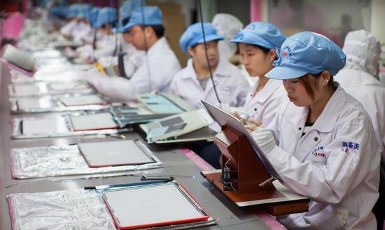 Apple lässt seine Hightech-Produkte nicht mehr nur beim umstrittenen Hersteller Foxconn produzieren, sondern auch beim offenbar noch billigeren Konkurrenten Pegatron.
