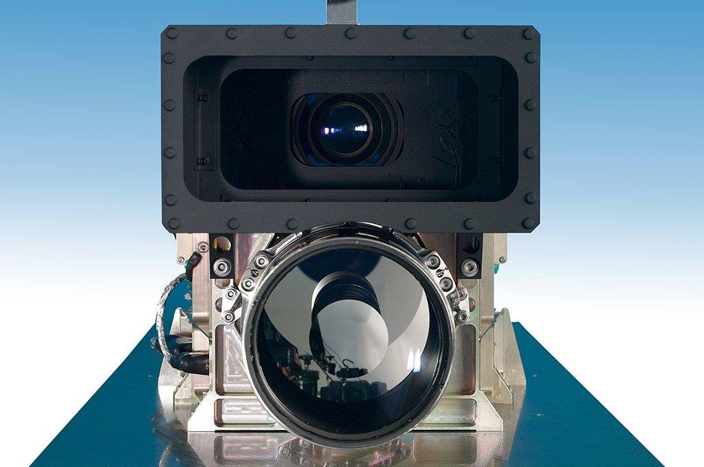 Noch immer gut in Schuss: die HRSC-Kamera.