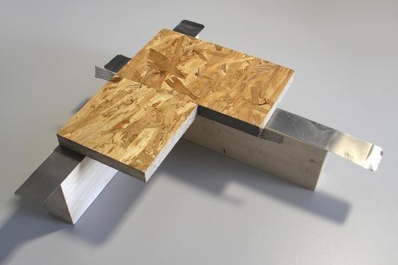 Das Fraunhofer Institut in Braunschweig hat einen Weg gefunden, Bauteile von Fertighäusern zu kleben. Diese können nun flexibler gestaltet werden.