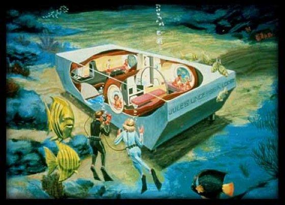 Romantische Stunden verspricht eine Nacht in Jule's Undersea Lodge.