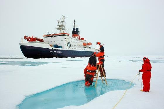 Zwei Monate lang wird die Polarstern den Winter in der Antarktis erforschen. Am Samstag startet das Schiff in Südafrika zu seiner aktuellen Polarexpidition.