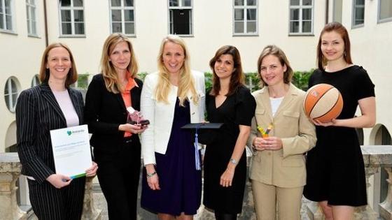 Sechs Frauen mit sechs ausgezeichneten Gründungsideen: Sie alle werden nun für ein Jahr vom Frauenbeirat der HypoVereinsbank unterstützt.