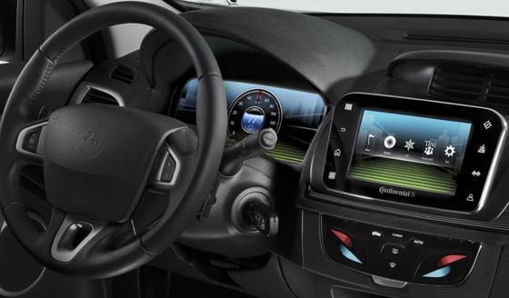 """Ob Stadt oder Land: Per Tastendruck kann der Fahrer das Konzeptfahrzeug """"Simplify your Drive"""" für Elektrofahrzeuge auf seine Bedürfnisse einstellen."""