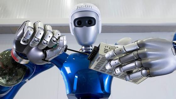 SpaceJustin – bald Ihr neuer Arbeitskollege?, fragt das DLR auf seiner Karriereseite.