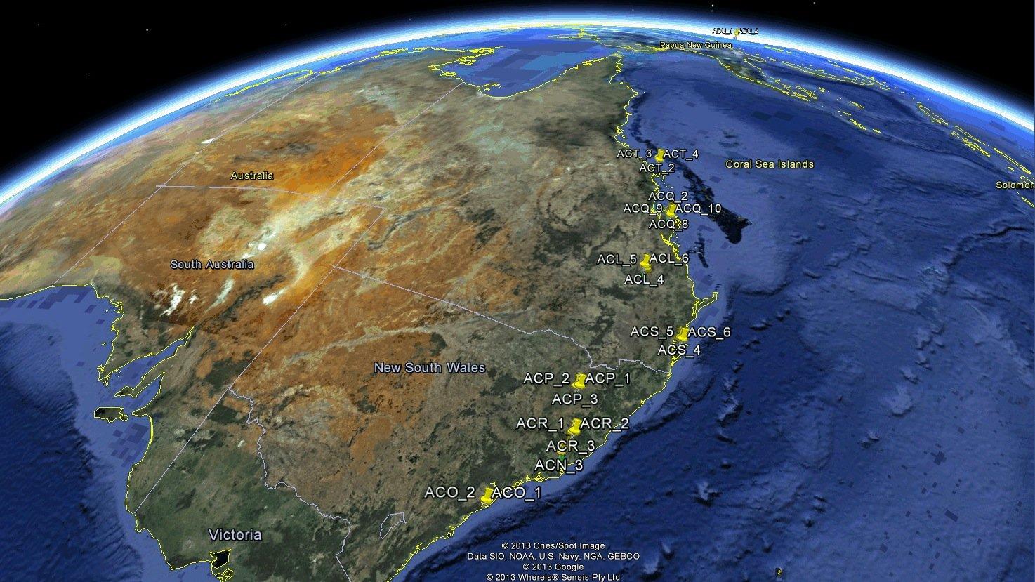 Über 100 Flugzeuge konnten die Wissenschaftler des Deutschen Zentrums für Luft- und Raumfahrt (DLR) beim ersten Überflug über die Britischen Inseln, Ostasien und Australien mit einem ADS-B-Empfänger orten, der an Bord des Satelliten PROBA-V mitfliegt.Auch die Kennung der Flugzeuge, das