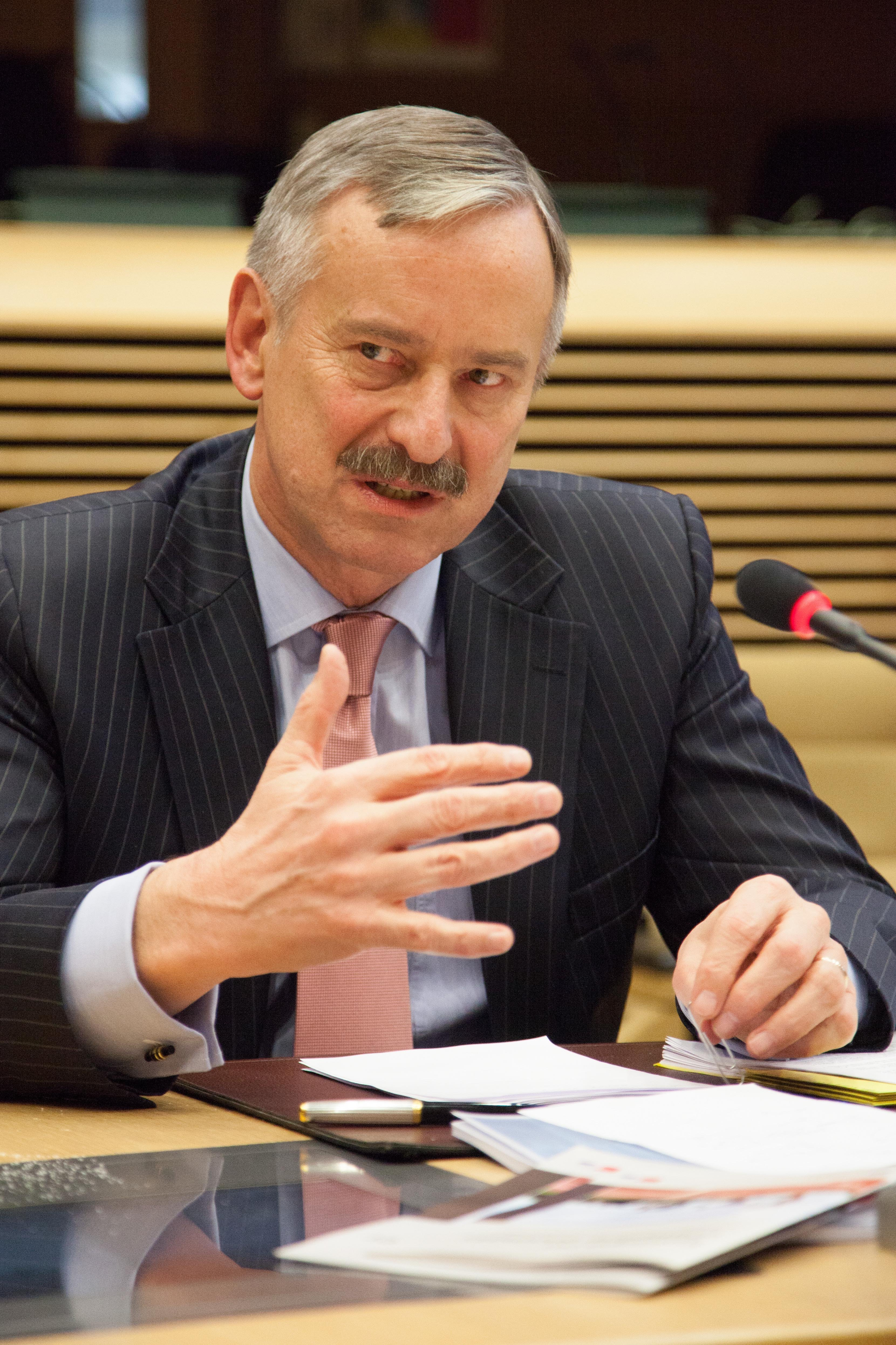 EU-Verkehrskommissar Siim Kallas.