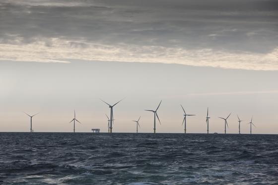 """Dong Manager Dittmer: """"Unser Windpark Horns Rev II hat im vergangenen Jahr an 8200 Stunden Strom produziert. Eine solche Ausbeute schaffen weder Windparks noch Photovoltaikanlagen an Land."""""""