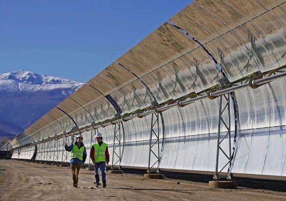 Das Projektgeschäft, Solarkraftwerke zu planen, kann man nicht studieren.