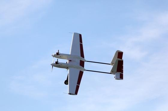 Weniger als 20 Kilogramm wiegt das unbemannte Flugzeuge 2Seas, das künftig die Küsten am Ärmelkanal überwachen soll. Es soll vor allem Drogenschmuggel und illegale Fischerei eindämmen.