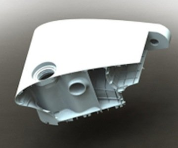 Die 2Seas wird fast ausschließlich durch Bauteile aus einem 3D-Drucker zusammengesetzt.