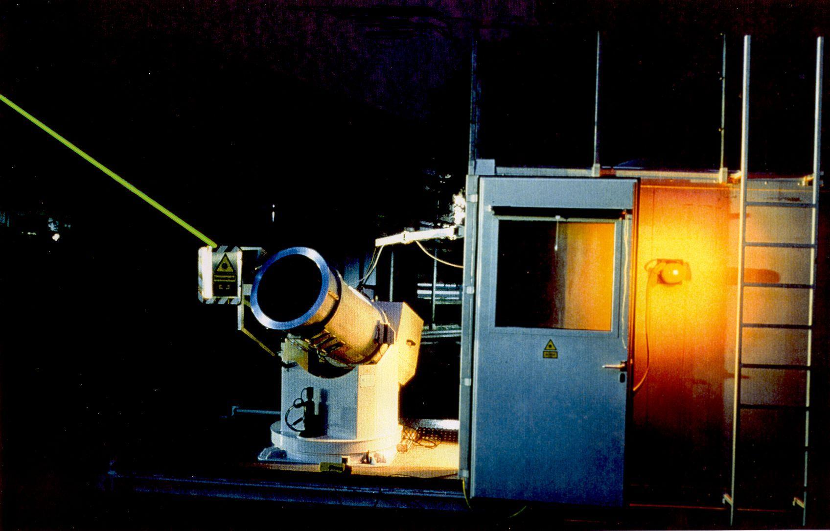 Mit Laser-Radar-Messungen (Lidar) untersuchen die Wissenschaftler in Garmisch-Partenkirchen die Auswirkungen vulkanischer Partikel. Diese können zu einer überraschend deutlichen Absenkungen der Temperaturen auf der Erde führen.