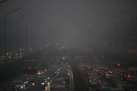 Luftverschmutzung wie hier in Peking kostet Nordchinesen fünfeinhalb Jahre ihres Lebens.