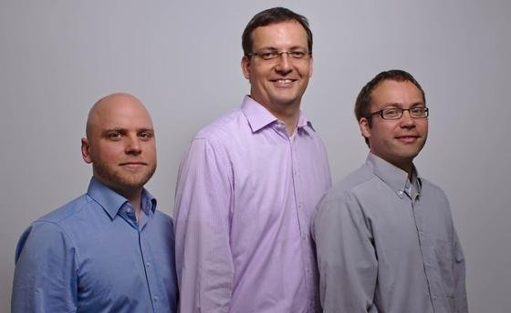 Das ausgezeichnete Solvertec-Team (v.l.): Jan Wessels, Dr.-Ing. Daniel Große, Dr.-Ing. André Sülflow.