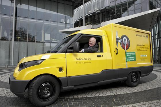 Die Deutsche Post DHL hat 50 Elektrotransporter der RWTH bestellt und will sie ab diesem Sommer im Praxiseinsatz erproben.