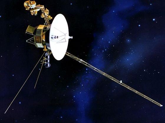 Schon seit über 35 Jahren im Dienste der Wissenschaft und immer noch auf Sendung – die Raumsonde Voyager 1.