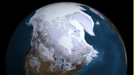 Der Eispanzer der Arktis: Experten befürchten, dass durch die Schmelze riesige Mengen Methangas freigesetzt werden – was die Erderwärmung weiter beschleunigen würde.
