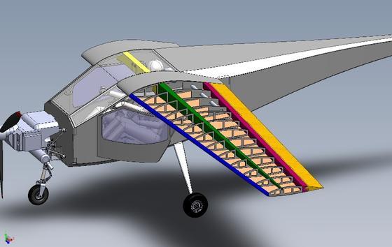 Der leichte Zweisitzer soll in der Herstellung nicht mehr als 15 000 Dollar kosten, etwa die Hälfte von bisherigen Flugzeugen in dieser Kategorie.
