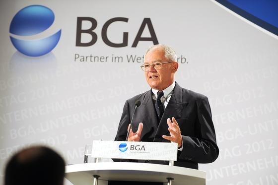 """BGA-Präsident Anton Börner: """"Wir sind im Export so gut aufgestellt, dass uns regionale Krisen nicht hart treffen"""""""