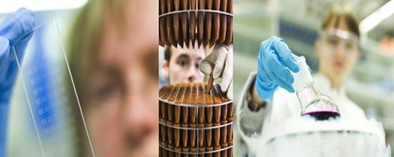 Ingenieure und Wissenschaftler von 14 deutschen Forschungsinstituten, Unis und Firmen entwickeln Tücher, die sich bei Kontakt mit Viren verfärben. So könnte zum Beispiel bei Schnäuzen schon zwischen einem harmlosen Schnupfen und einer gefährlichen Grippe unterschieden werden.